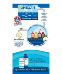 Nordic Naturals Omega3 02760 fish oil