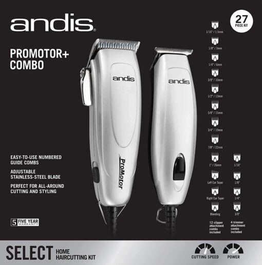 Andis Promotor Plus Combo